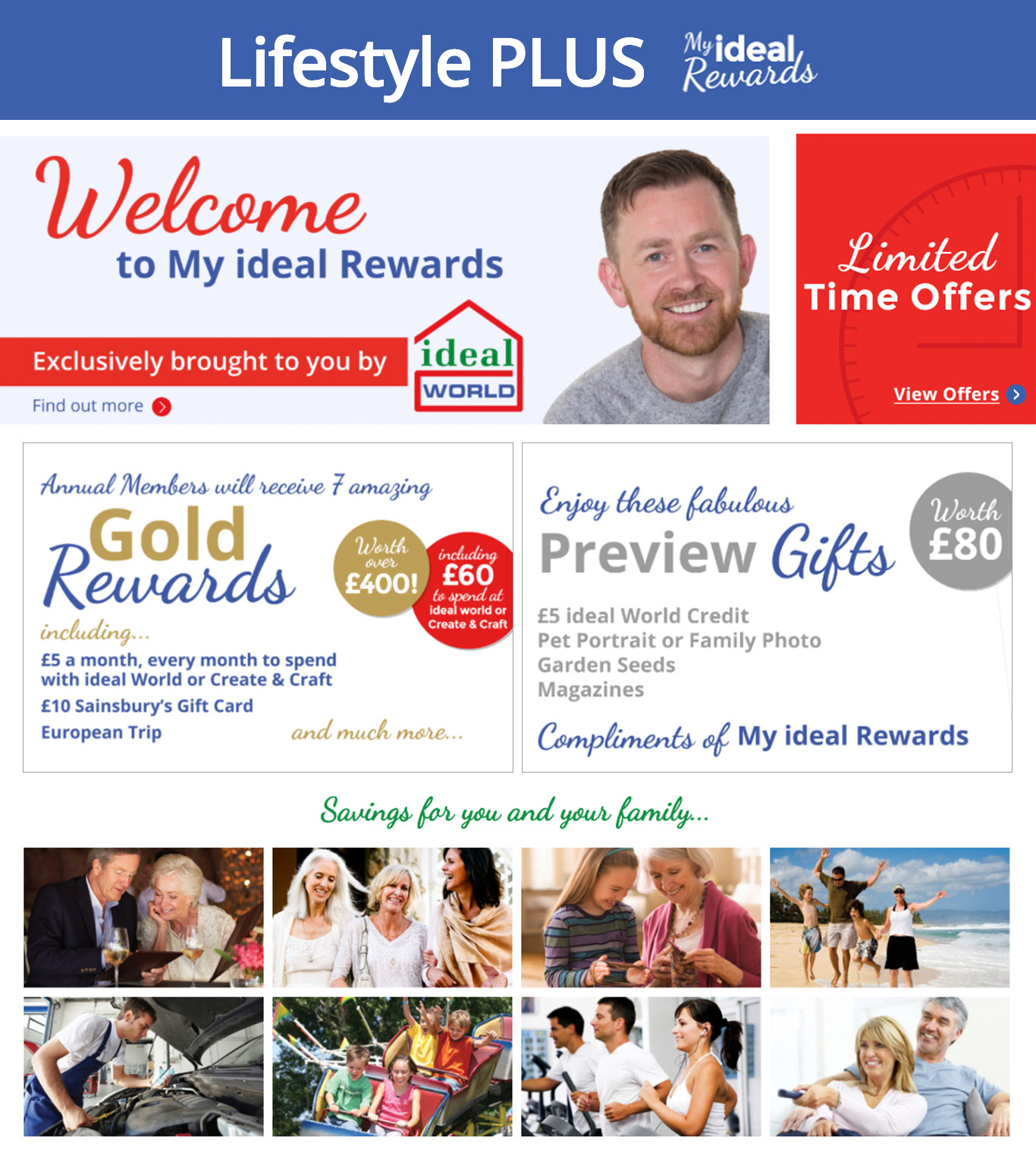My Ideal Rewards, Live More Spend Less - Join Today