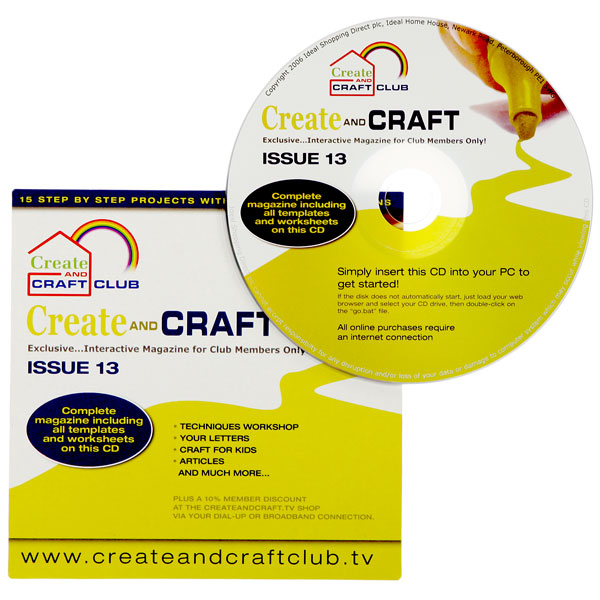Create & Craft Club Back Issue 13