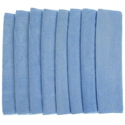 Pack of 8 Large Microfibre Cloths
