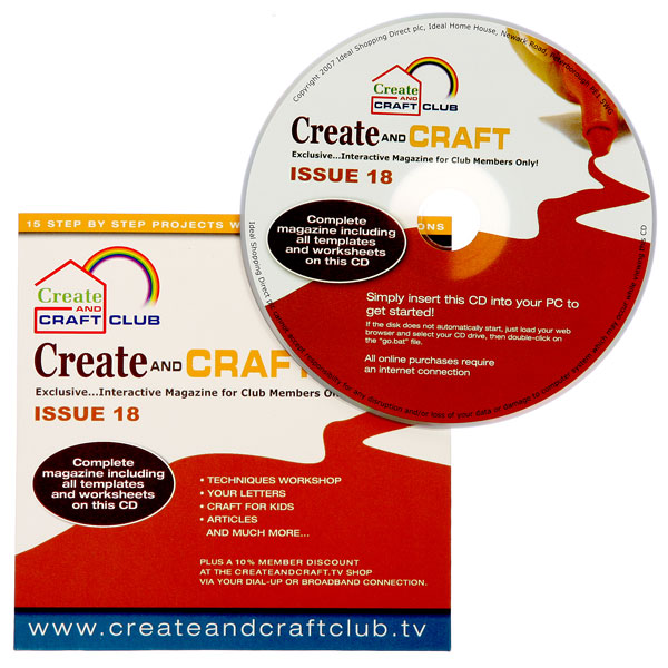 Create and Craft Club Back Issue 18