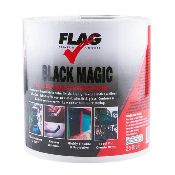 Black Magic Paint - 2.5 Litre Tin No Colour
