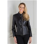 Woodland Leather Ladies 4 Button Neru Jacket