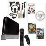 Nintendo Wii Black Console Inc Wii Sports and Wii Sports Resort pack