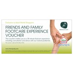 3 for 2 Friends and Family Shuropody Footcare Experience Vouchers