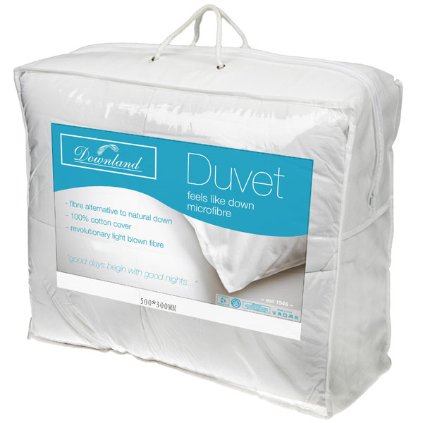 Downland Single Microfibre 10.5 Tog Duvet