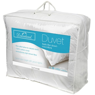 Downland 10.5 Tog Microfibre Duvet (Super King)