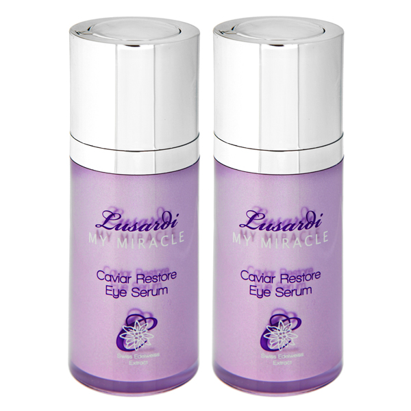 Lusardi My Miracle Caviar Restore Eye Serum 15ml Twinpack