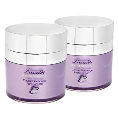 Lusardi My Miracle Caviar Recharge Night Cream 50ml Twinpack