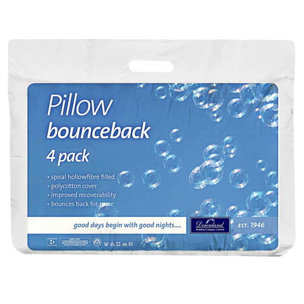 Bounce Back Pillow - 4 Pack