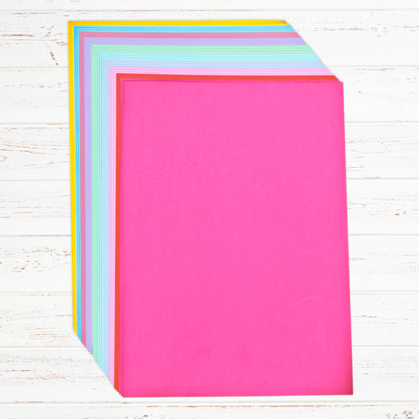 ideal world create and craft create and craft pack of 30 a4 satin board 250 gsm 199423 6819