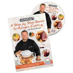 A Step by Step Guide to Halogen Cooking by Paul Brodel DVD