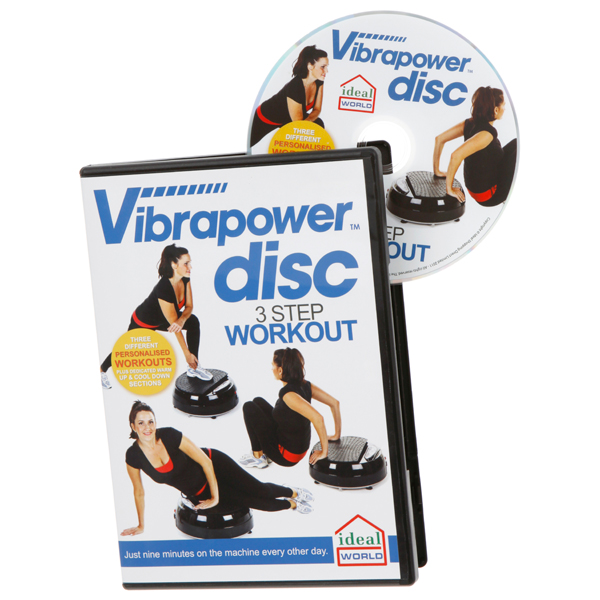 Vibrapower DVD No Colour