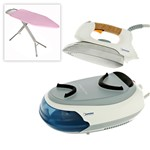 Domotec DSG33 Steam Generator Iron and Metaltex Hadar Ironing Board
