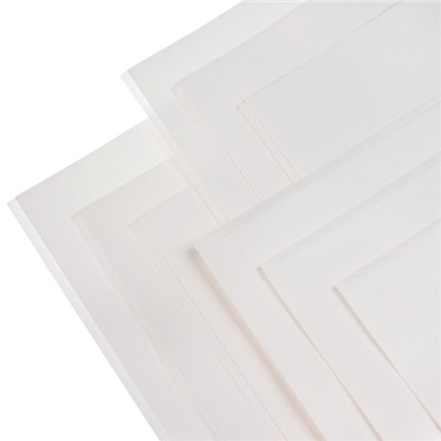 Pack of 9 Asst White A4 Foam Adhesive Sheets -3 x 1mm, 3 x 2mm, 3 x 3mm