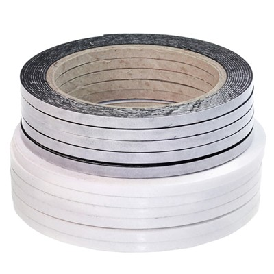 Pack of 10 Rolls of 5mm x 1mm x 5M White