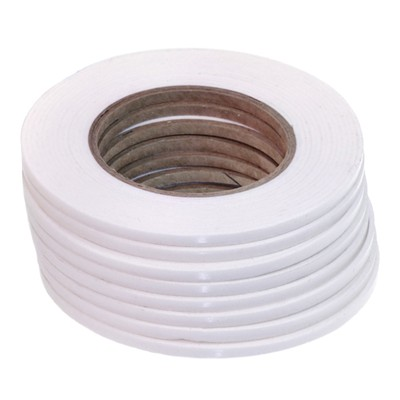 Pack of 10 Rolls of 5mm x 2mm x 5M 3D White Foam Tape