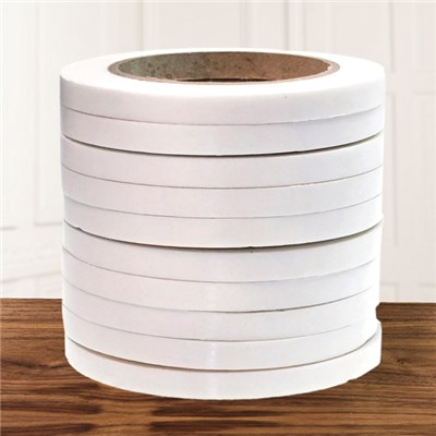 Pack of 10 Rolls of 10mm x 1mm x 5m 3D White Foam Tape