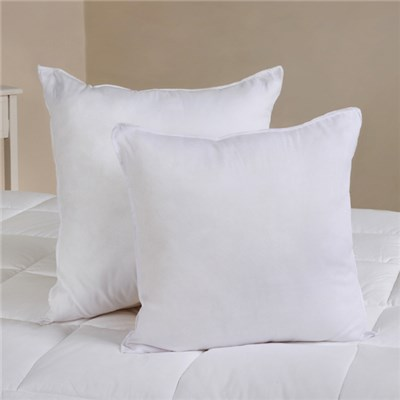 Pair of 45x45cm Hollowfibre Cushion Pads
