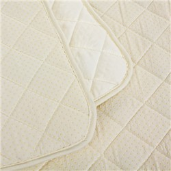 Vergari Magnetic Quilted Double Mattress Pad 128 x 180cm Containing 500 Magnets