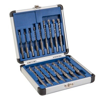 16 Piece Drill All Drill Bit Set with 10 Year Warranty - Includes 12mm Drill Bit