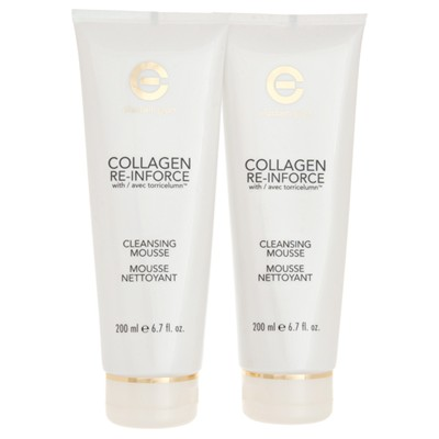Elizabeth Grant Twinpack Collagen Re-Inforce Cleanser 200ml