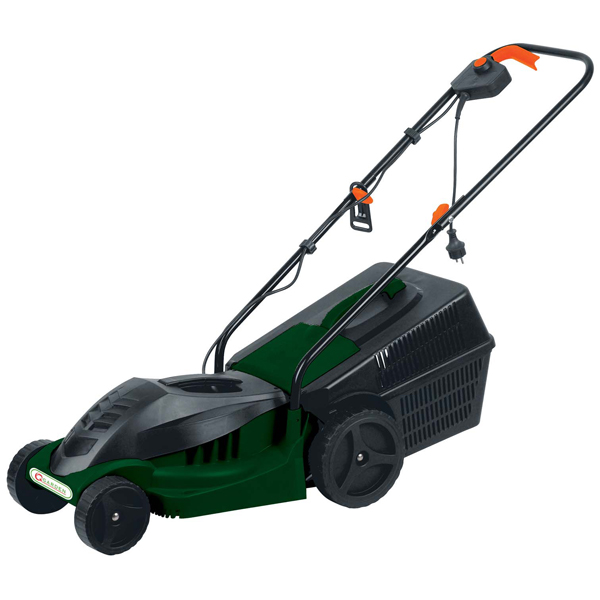 Q Garden 1000W Electric Lawn Mower with 40L Collection