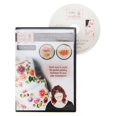 Perfect Cake Painting, Colour, Shade and Highlight DVD Volume One