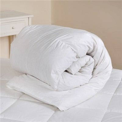 Downland 10.5 Tog White Duck Feather & Down Duvet (Single)