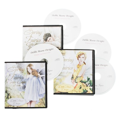 Spring Fairies 4 CD ROM Collection
