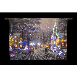 36 x 26 inch Memories of Christmas Hanging Tapestry