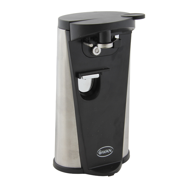 Swan Electric Can Opener - Black