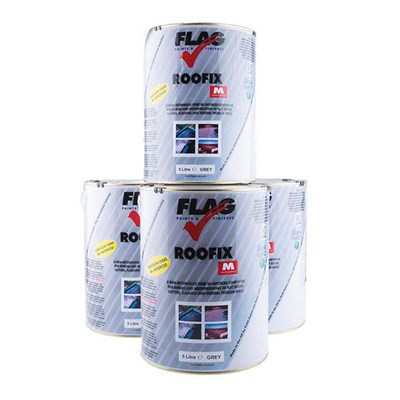 Roofix Multi-Surface Roof Repair 4 x 5 Litre Tins