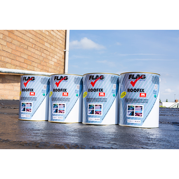 Roofix Multi Surface Roof Repair 4 X 5 Litre Tins 279052