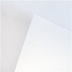 Pack of 25 A3 Sheets of Centura Pearl Snow White - 2 Options