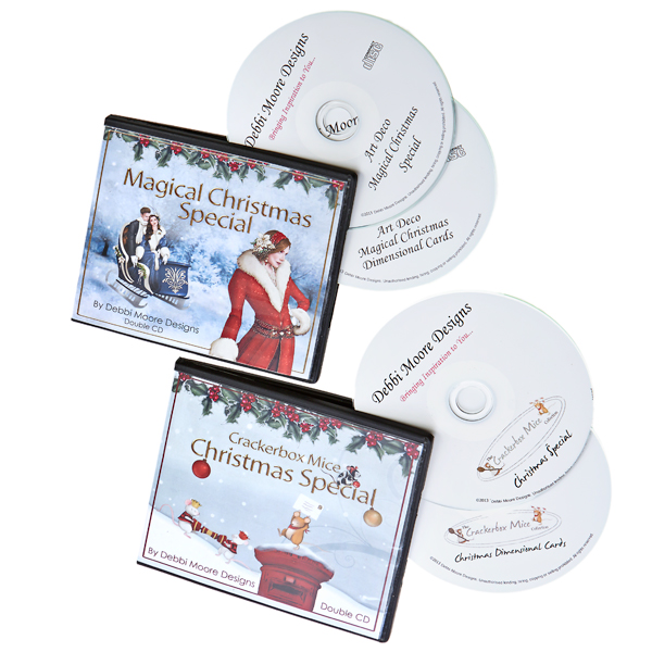 Christmas 4 CD ROM Collection includes Christmas Crackerbox Mice and Magical Christmas Special
