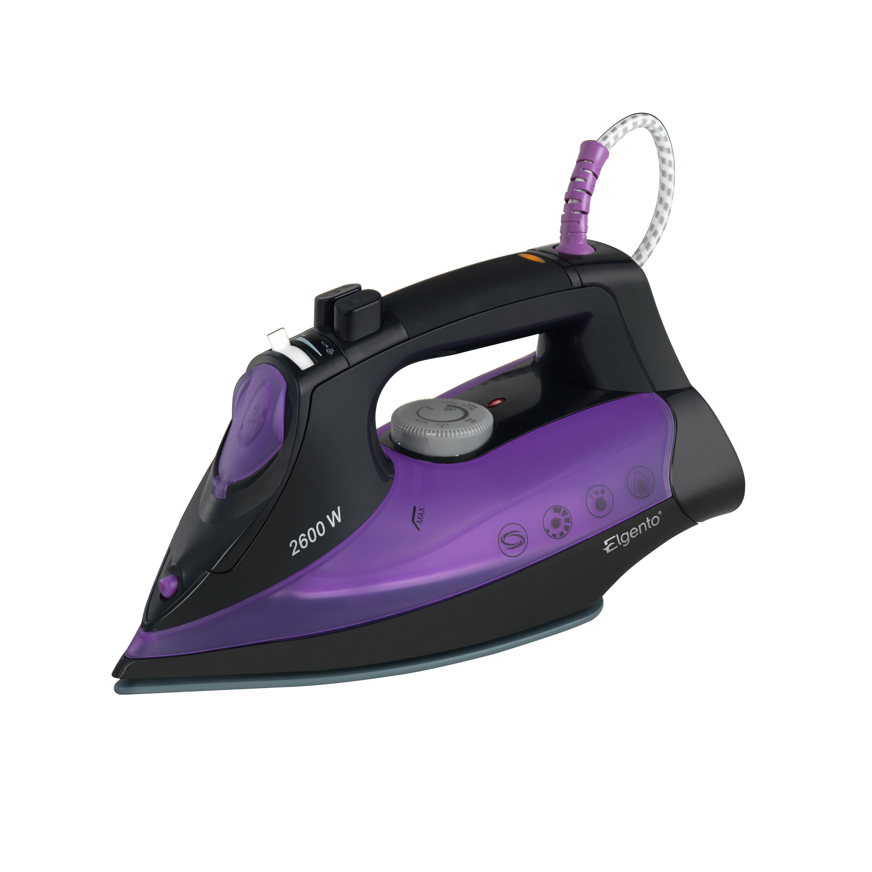 Elgento 2600W Iron No Colour