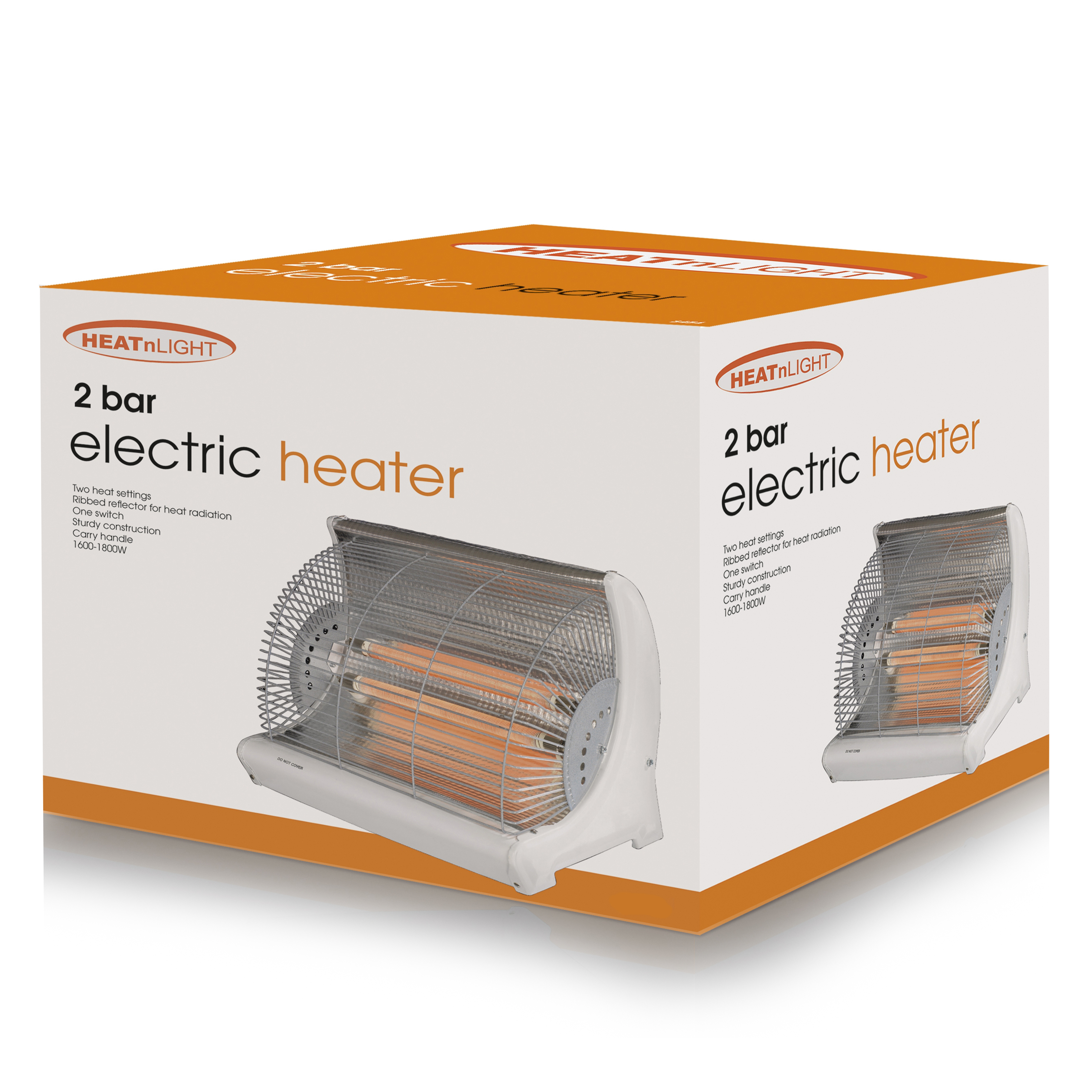 Heat And Light Radiant 2 Bar Heater - None No Colour