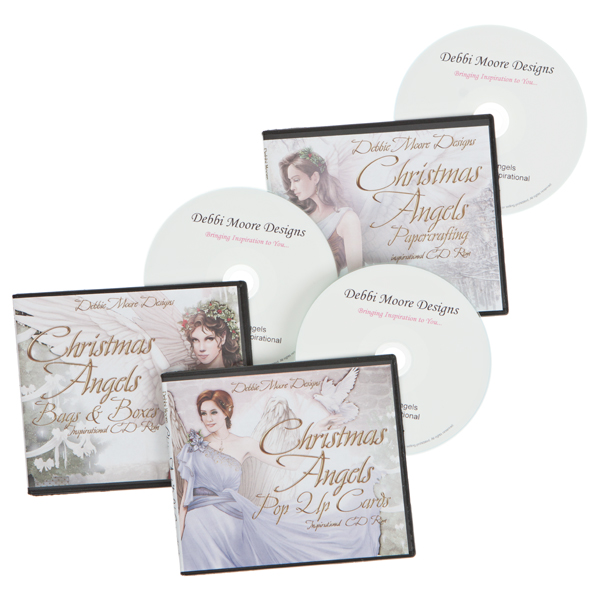Christmas Angels Pop Up and Bags and Boxes CD ROM With Free Papercrafting Inspirational CD ROM