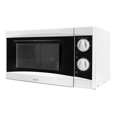 Akai 800W Manual Microwave - White