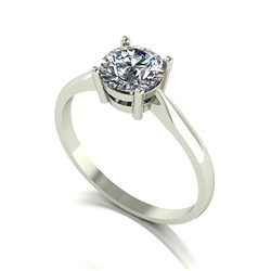 9ct Gold Diamond 1.00ct Solitare Ring