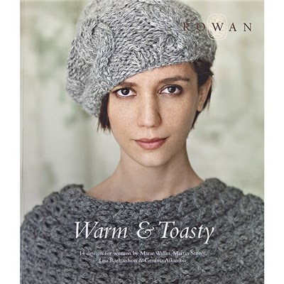Warm and Toasty Knitting Pattern Book by Rowan