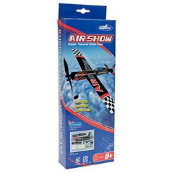 Rubber Powered Model Airplane