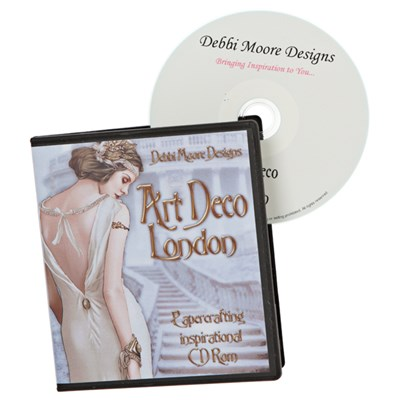 Debbi Moore Art Deco London Inspirational Papercrafting CD ROM