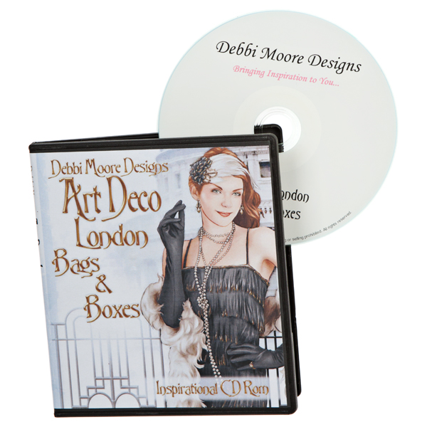 Debbi Moore Art Deco London Bags and Boxes CD ROM 295674