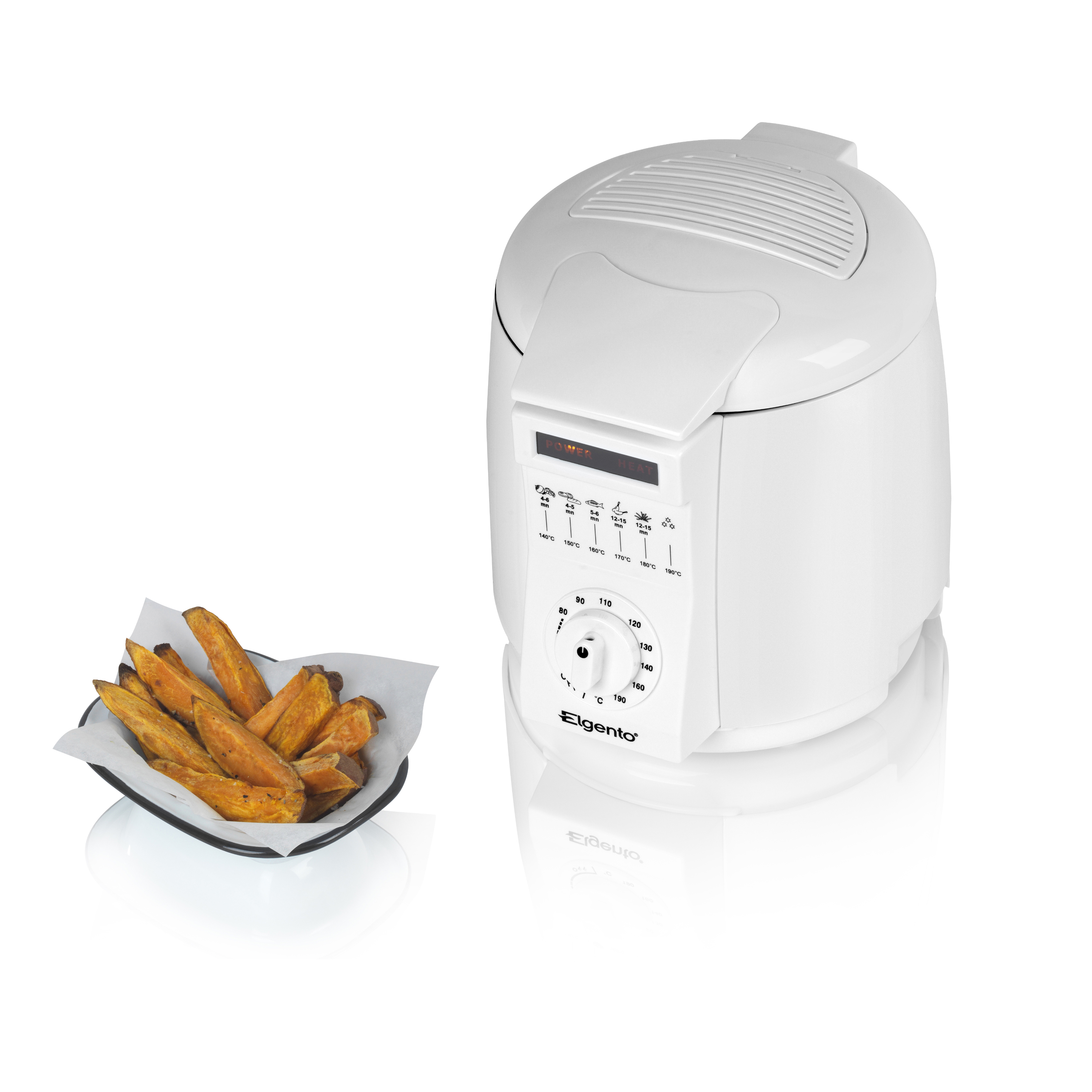 Elgento 1Lt Fryer No Colour
