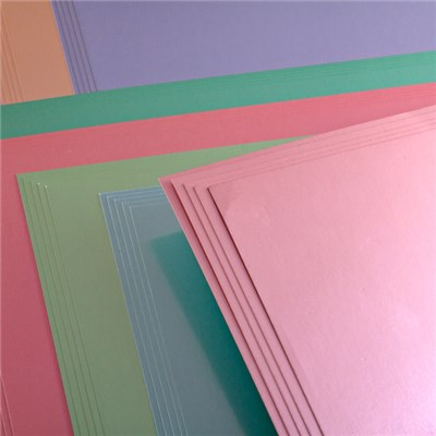 Create and Craft Pack of 50 A4 Mirror Board Pastels 250 GSM