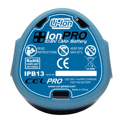CEL IonPRO 10.8V Li-ion 1.3Ah Battery
