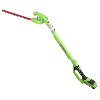 Greenworks 24V Lithium-ion Battery Hedgetrimmer with Battery