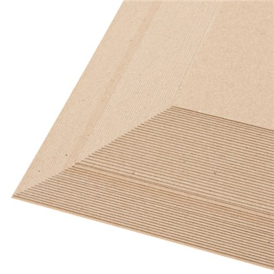 50 Sheets of Brown Kraft Card 280 GSM