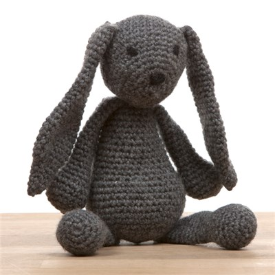 Bunny Crochet Kit - includes 100g DK yarn and pattern